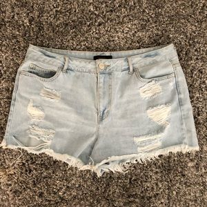 High Waisted Forever 21 Shorts